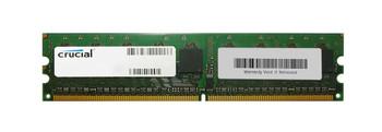 CT25664AA40E.16F Crucial 2GB DDR2 ECC PC2-3200 400Mhz Memory