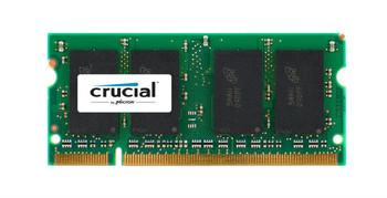 CT25664AC53E.K16FK Crucial 2GB DDR2 SoDimm Non ECC PC2-4200 533Mhz Memory