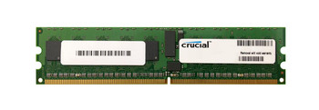 CT25672AB667S.18FH1Z Crucial 2GB DDR2 Registered ECC PC2-5300 667Mhz 1Rx4 Memory