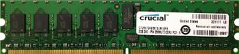 CT25672AB667S.M18FH Crucial 2GB DDR2 Registered ECC PC2-5300 667Mhz 1Rx4 Memory