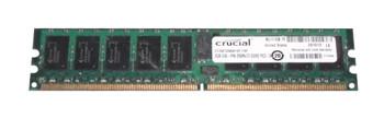 CT25672AB667SP.I18F Crucial 2GB DDR2 Registered ECC PC2-5300 667Mhz 1Rx4 Memory