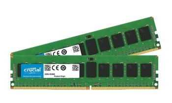 CT2K8G4RFD824A Crucial 16GB (2x8GB) DDR4 Registered ECC PC4-19200 2400Mhz Memory