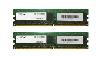 CT2KIT51272AA667 Crucial 8GB (2x4GB) DDR2 ECC PC2-5300 667Mhz Memory