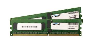 CT2KIT51272AB53E Crucial 8GB (2x4GB) DDR2 Registered ECC PC2-4200 533Mhz Memory