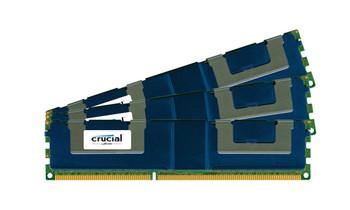 CT3K32G3ELSLQ41339 Crucial 96GB (3x32GB) DDR3 Registered ECC PC3-10600 1333Mhz Memory