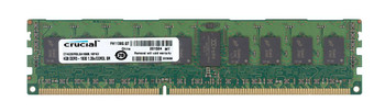CT4G3ERSLS4160B.18FKD Crucial 4GB DDR3 Registered ECC PC3-12800 1600Mhz 1Rx4 Memory