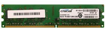 CT51264AA667.16FC Crucial 4GB DDR2 Non ECC PC2-5300 667Mhz Memory