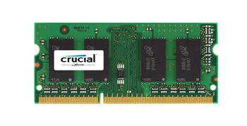 CT51264BF1339.16FMD Crucial 4GB DDR3 SoDimm Non ECC PC3-10600 1333Mhz 2Rx8 Memory