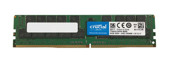CT64G4LFQ424A.36DB2 Crucial 64GB DDR4 Registered ECC PC4-19200 2400Mhz 4Rx4 Memory