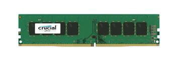 CT8G4DFS824A.8FD1 Crucial 8GB DDR4 Non ECC PC4-19200 2400Mhz 1Rx8 Memory