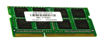 D0JKH-T PNY 8GB DDR3 SoDimm Non ECC PC3-12800 1600Mhz 2Rx8 Memory