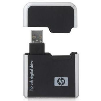 DL702X HP Secure Digital USB 2.0 FlashCard Reader with 128MB Secure Digital Card Secure Digital (SD) Card