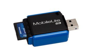 FCR-MLG3 Kingston MobileLite G3 9-in-1 USB 3.0 Flash Card Reader