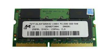 MT16LSDF3264HG-133 Micron 256MB SODIMM Non Parity PC 133 133Mhz Memory
