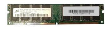 MT16LSDT3264AG-10E Micron 256MB SDRAM Non ECC PC-100 100Mhz Memory