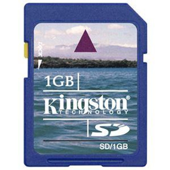 SD/1GB-2P Kingston 1GB SD Flash Memory Card