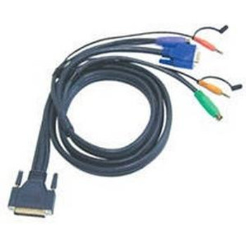 2L1701P Aten MasterView Pro 1000 Series KVM Cable 6ft Black