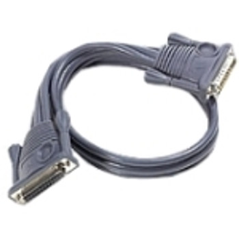2L1715 Aten KVM Daisy Chain Cable DB-25 Male DB-25 Female 49.21ft