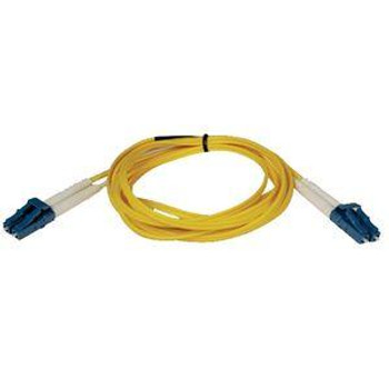 N370-01M Tripp Lite Fiber Optic Duplex Patch Cable LC Male LC Male 3.28ft Yellow