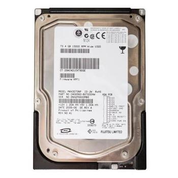 MAX3073NP Fujitsu 73GB 15000RPM Ultra 320 SCSI 3.5 8MB Cache Enterprise Hard Drive
