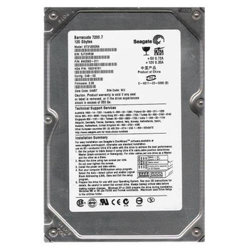 ST3120026A Seagate 120GB 7200RPM ATA 100 3.5 8MB Cache Barracuda Hard Drive