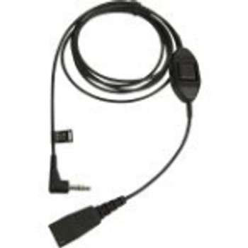8735-019 GN Audio Cable 1 x Quick Disconnect Male Audio 1 x Mini-phone Male Stereo Audio
