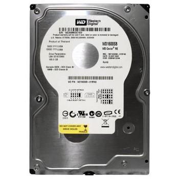 WD1600SB-01RFA0 Western Digital 160GB 7200RPM ATA 100 3.5 8MB Cache RE Hard Drive