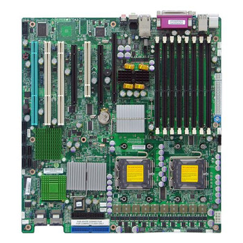 X7DA3 SuperMicro Intel 5000X Chipset Quad-Core Xeon 5400/ 5300 and Dual-Core Xeon 5200/ 5100/ 5000 Processors Support Dual Socket LGA771 Extended ATX
