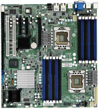 S7020AGM2NR Tyan S7020 Socket LGA 2366 Intel 5520/ICH10R Chipset DDR3 Intel Xeon 5500/5600 Series Processors Support DDR3 12x DIMM 6x SATA 3.0Gb/s SSI