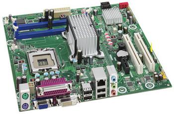 DQ43AP Intel Desktop Motherboard Q43 Express Chipset Socket LGA-775 1066MHz FSB micro ATX (Refurbished)