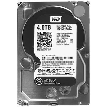 WD4001FAEX Western Digital 4TB 7200RPM SATA 6.0 Gbps 3.5 64MB Cache Black Hard Drive