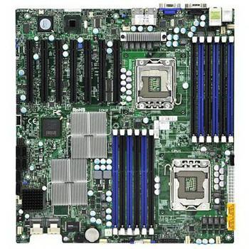 X8DTH-6 SuperMicro Server Motherboard Intel 5520 Chipset Socket B LGA-1366 Extended-ATX 2 x Processor Support 96GB DDR3 SDRAM Maximum RAM Serial Attac
