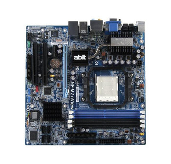 NF-M2S Abit Nvidia GeForce 6100 Chipset Socket AM2 micro-ATX Motherboard (Refurbished)