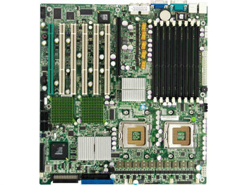 X7DB8-O SuperMicro Intel 5000P Chipset Quad Core Xeon 5400/ 5300 Series Processors Support Dual Sockets LGA771 Extended-ATX Server Motherboard (Refurb