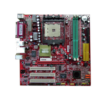 MS-6741 MSI AMD Socket 754 Motherboard (Refurbished)