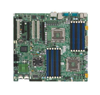 X8DAI-B SuperMicro Intel 5520 Dual Xeon Processor Supported Socket LGA1366 Extended-ATX Server Motherboard (Refurbished)