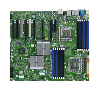 X8DTG-QF-B SuperMicro 2 CPUs Supported Intel i5520 2 x Gigabit Ethernet on Board Graphics Socket LGA1366 Server Motherboard (Refurbished)
