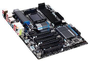 GA-990FXA-UD5 Gigabyte Socket AM3+ AMD 990X/ SB950 Chipset AMD AM3+ FX/ AM3 Phenom II/ Athlon II Processors Support DDR3 4x DIMM 6x SATA 6.0Gb/s ATX M