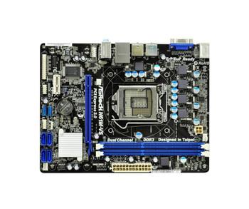 H61M-VS ASRock LGA1155 Socket H61 Lan Onboard-Graphic CPU HD (Refurbished)