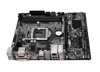 H81M-HDS ASRock Socket LGA1150 Intel H81 Chipset Core i7 / i5 / i3 / Pentium / Celeron / Xeon Processors Support DDR3 2x DIMM 2x SATA3 6.0Gb/s Micro-A