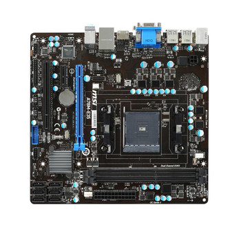 A78ME35 MSI A78m-e35 AMD Fm2+ A78 DDR3 32GB PCi Express SATA USB VGA/HDMI/DVI MicroATX Motherboard (Refurbished)