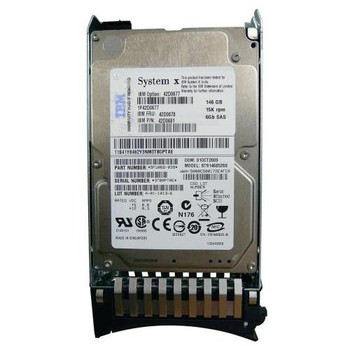 42D0678 IBM 147GB 15000RPM SAS 6.0 Gbps 2.5 16MB Cache Hard Drive