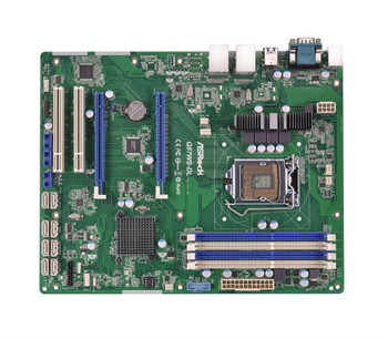 Q87WS-DL ASRock LGA1150 Intel Q87 DDR3 SATA3&usb3.0 2GBe At (Refurbished)