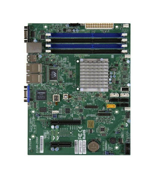 A1SAM2550FO SuperMicro Intel Atom C2550 DDR3 SATA3 V&4GBe Micro-ATX Motherboard & CPU Combo (Refurbished)