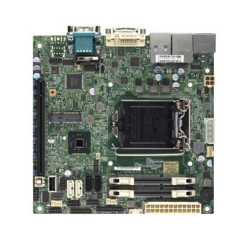 X10SLVQB SuperMicro LGA1150 Intel Q87 DDR3 SATA3&USB3.0 Mini-itx Motherboard (Refurbished)