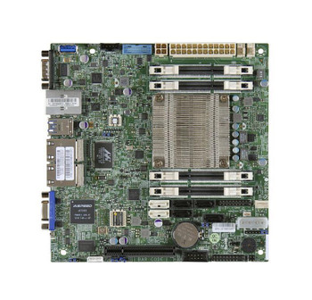 A1SAI2550FO SuperMicro Intel Atom C2550 DDR3 SATA3&usb3.0 V&4GBe Mini-itx Motherboard (Refurbished)