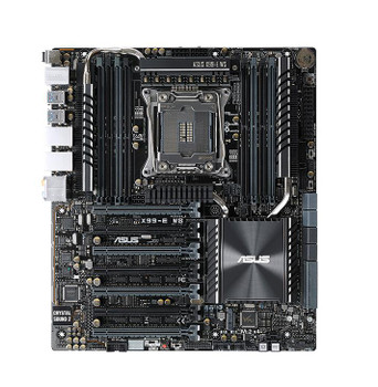 X99EWS ASUS X99-E WS Intel X99 Chipset Core i7 Processors Support Socket 2011 CEB Motherboard (Refurbished)