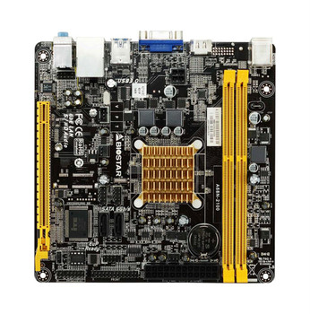 A68N-2100 Biostar APU E1-2100 2X HD8210 Graphics Mini-ITX Motherboard (Refurbished)