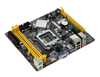 H81MHV3 Biostar H81 Chipset Socket LGA1150 2Dimm VGA HDMI M-ATX Motherboard (Refurbished)