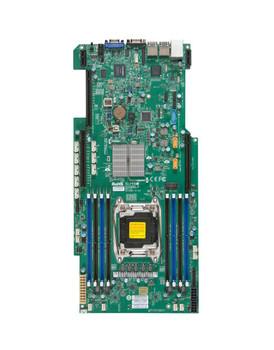 X10SRGFO SuperMicro Socket R3 LGA 2011 Xeon E5-1600 / E5-2600 v4 / v3 Intel C612 Chipset DDR4 8 x DIMM 10 x SATA 6Gbps Proprietary Server Motherboard